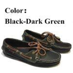 black-dark-green